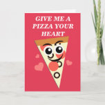 My Pepporoni Valentine Holiday Card