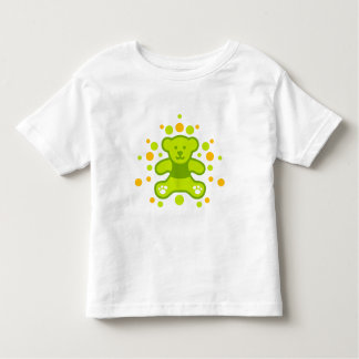 My perfect Teddy Bear - Green with less pebbles Toddler T-shirt
