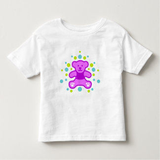 My perfect Teddy Bear - Purple with less pebbles Toddler T-shirt