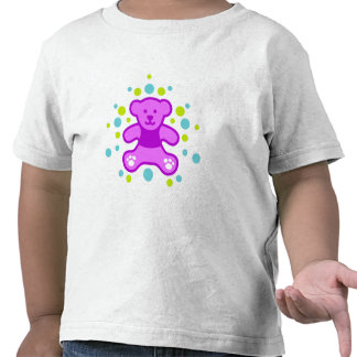 My perfect Teddy Bear - Purple with less pebbles Tee Shirt