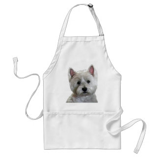 MY PERFECT WESTIE ADULT APRON