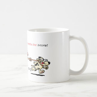 My Personal Trainer Works for Bones Classic White Coffee Mug