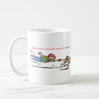 My Personal Trainer works for Bones! Coffee Mug