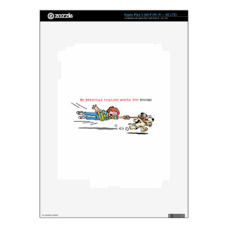 My Personal Trainer Works for Bones iPad 3 Skins
