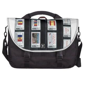 """""""My personalized stamps"""" p3,by zazzle.com/dorinco* Laptop Bags"""