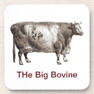 My Pet Bovine (Bull or Cow) Coaster