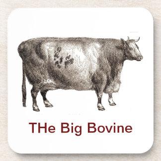 My Pet Bovine (Bull or Cow) Drink Coaster