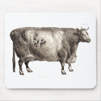 My Pet Bovine (Bull or Cow) Mouse Pad