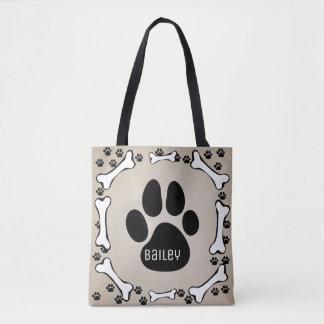 My Pet Dog Monogram Dog Stuff Bag