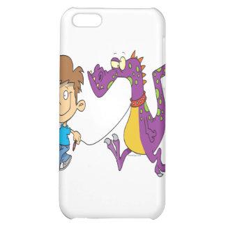 my pet dragon funny cartoon iPhone 5C covers
