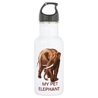 MY PET ELEPHANT 18OZ WATER BOTTLE