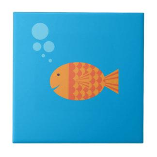 My Pet Goldfish Ceramic Tile