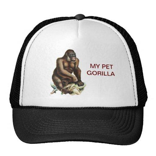 MY PET GORILLA MESH HATS