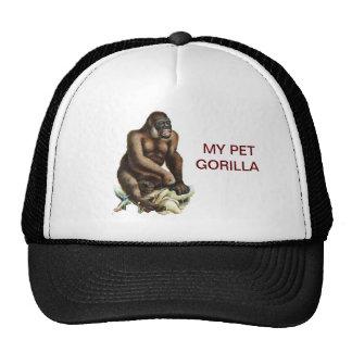 MY PET GORILLA TRUCKER HAT