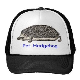 MY PET HEDGEHOG CAP TRUCKER HAT