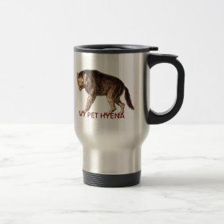 MY PET HYENA - Ha-Ha 15 Oz Stainless Steel Travel Mug