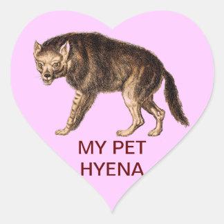 MY PET HYENA - Ha-Ha Heart Sticker