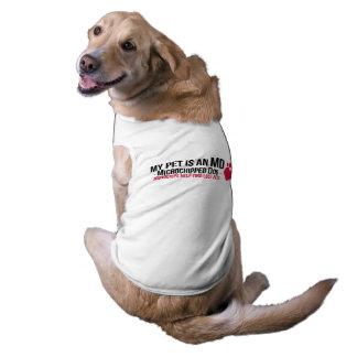 """My Pet is an MD"" Doggie Tee"