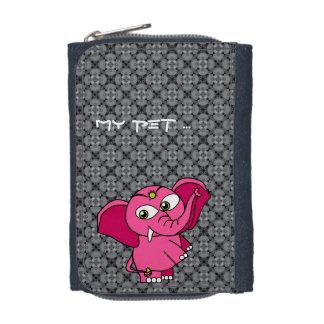 My pet pink elephant wallets