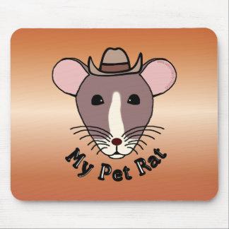 My Pet Rat (Cowboy) Mouse Pad