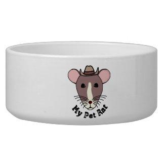 My Pet Rat (Cowboy) Pet Water Bowls