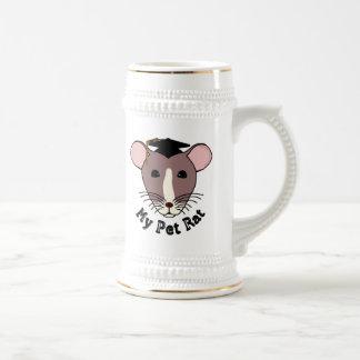 My Pet Rat (Graduate) Beer Stein