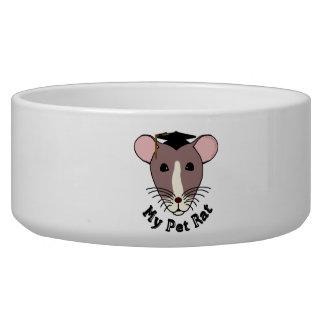 My Pet Rat (Graduate) Pet Food Bowls
