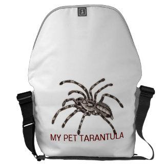 MY PET TARANTULA COURIER BAG
