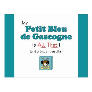 My Petit Bleu de Gascogne is All That! Postcard