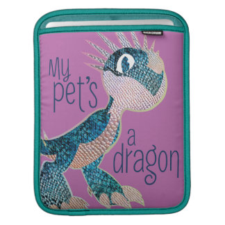 My Pet's A Dragon iPad Sleeve