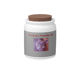 My Pets Favorite Treat Jar Candy Dish