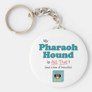 My Pharaoh Hound is All That Keychain