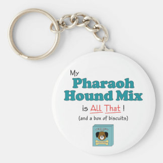 My Pharaoh Hound Mix is All That Keychains