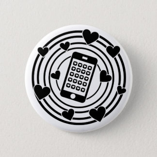 My Phone is the Centre of My Universe! Pinback Button