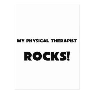 MY Physical Therapist ROCKS! Postcard