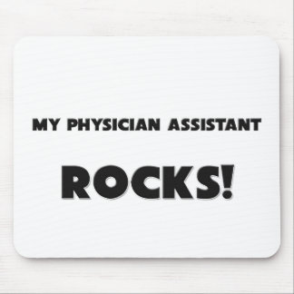 MY Physician Assistant ROCKS Mouse Mats