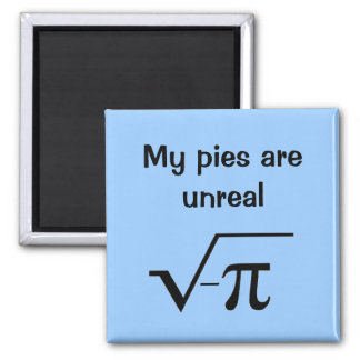 My pies are unreal magnet