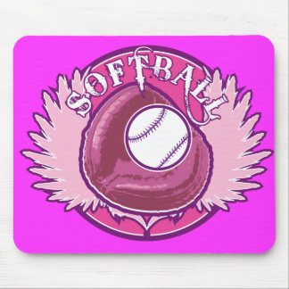 My Pink Team Mouse Pad