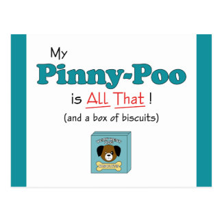 My Pinny-Poo is All That! Postcard