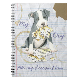 My Pit Bull Ate My Lesson Plan Notebook