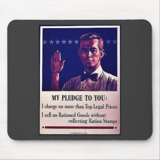 My Pledge To You Mouse Pads