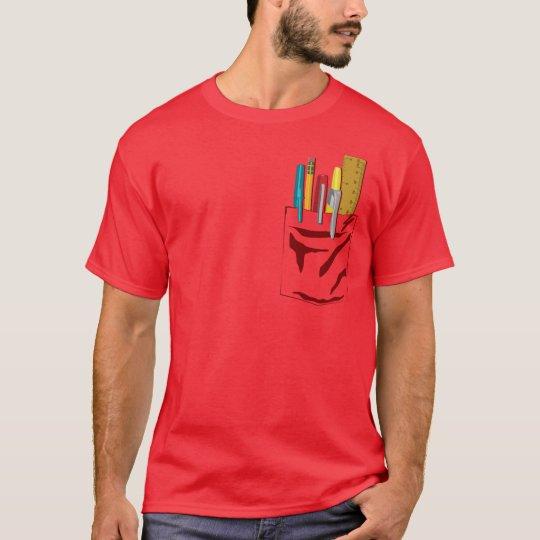 My Pocket. My Pens. (maroon) T-Shirt