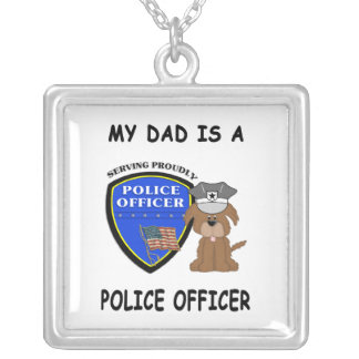 My Police Dad Pendants