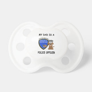 My Police Dad Pacifier