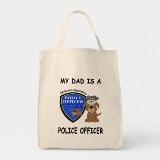My Police Dad Tote Bag