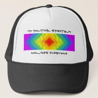 My Political Spectrum Trucker Hat