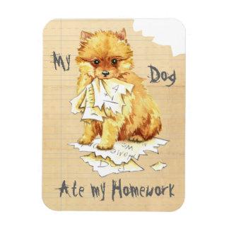 My Pomeranian Ate My Homework Magnet