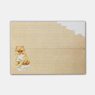 My Pomeranian Ate My Homework Post-it® Notes