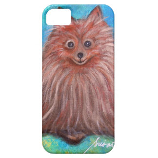 My Pomeranian Dog by Prisarts iPhone 5 Cover