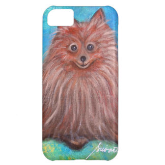 My Pomeranian Dog by Prisarts iPhone 5C Cases